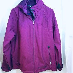 Free Country Plus Size Winter Jacket Purple